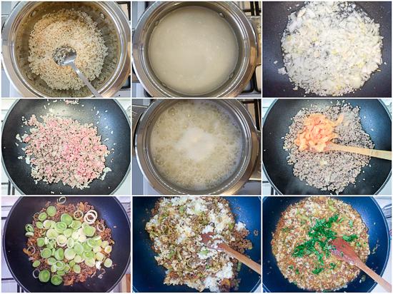 Rižoto sa Prasom i Faširanim Mesom: brzo jelo iz 'jedne šerpe' u kojem se nalazi sve potrebno, bjelančevine, ugljikohidrati i masnoće.
