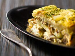 Easy Serbian Ground Beef Potato Moussaka Casserole Balkan Lunch Box