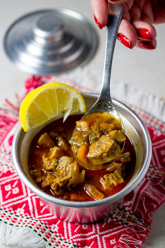 bamija, okra, supa od bamije, ramazanski meni | balkanlunchbox.com