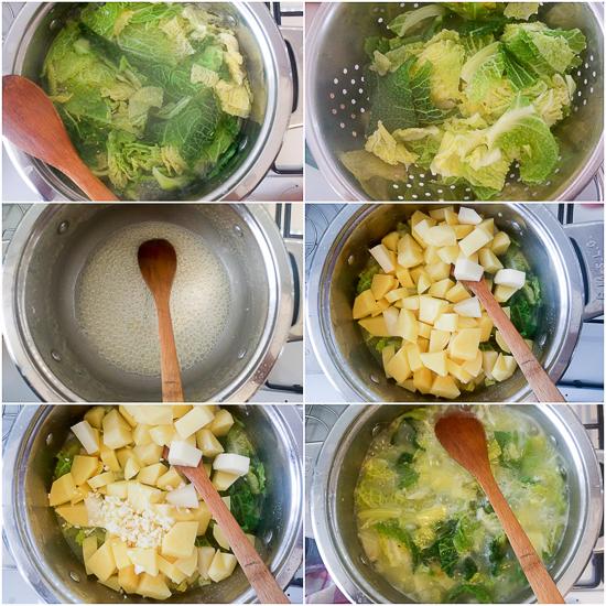 Bijeli luk, krompir i kelj, to je sve što vam je potrebno da napravite ovu osvježavajuću čorbu. Ovo je jedno vegetarijansko jelo koje će vas držati u formi sve do sutrašnjeg doručka. (Limun je opcionalan.)