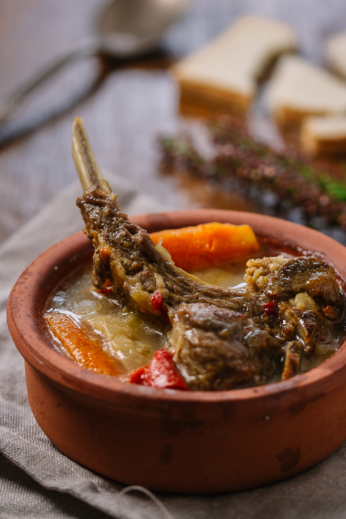 dagara, tagara, lamb stew, veal stew, lamb and veal stew, veggie stew | balkanlunchbox.com