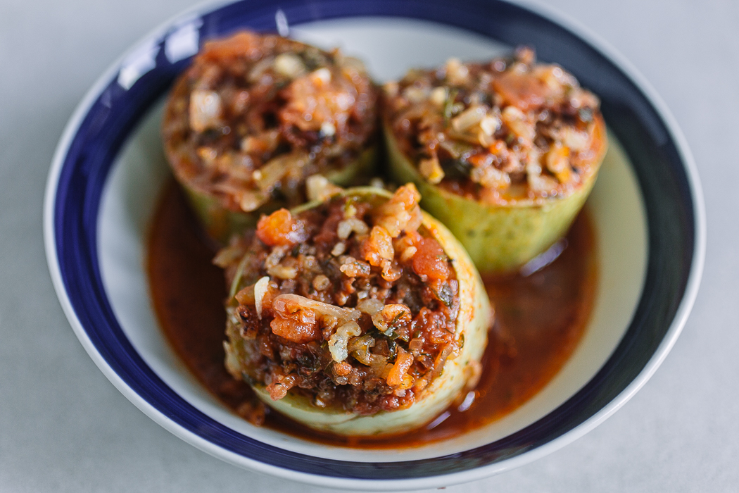 Stuffed Zucchini Punjene Tikvice Balkan Lunch Box