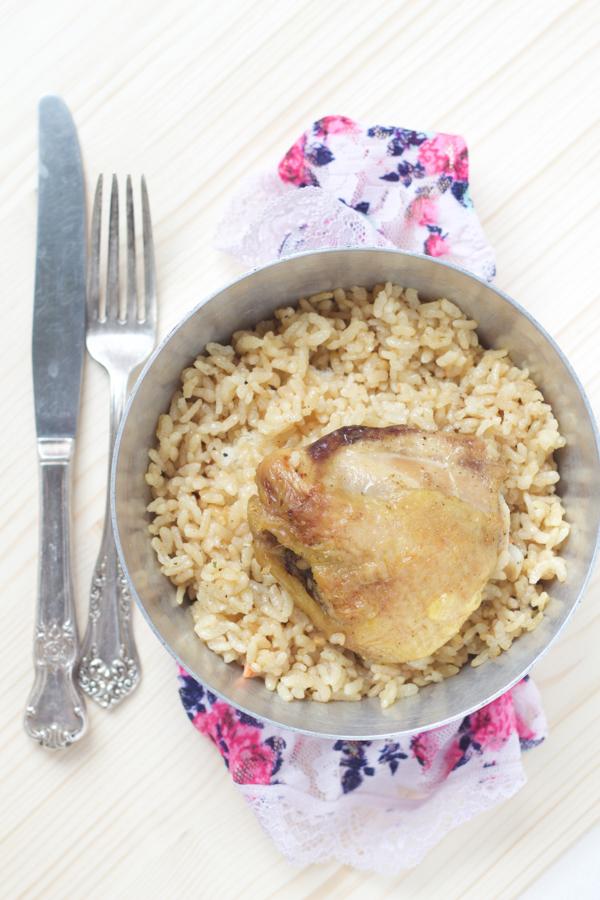 0balkan baked chicken and rice casserole recipe pecena piletina sa rizom main