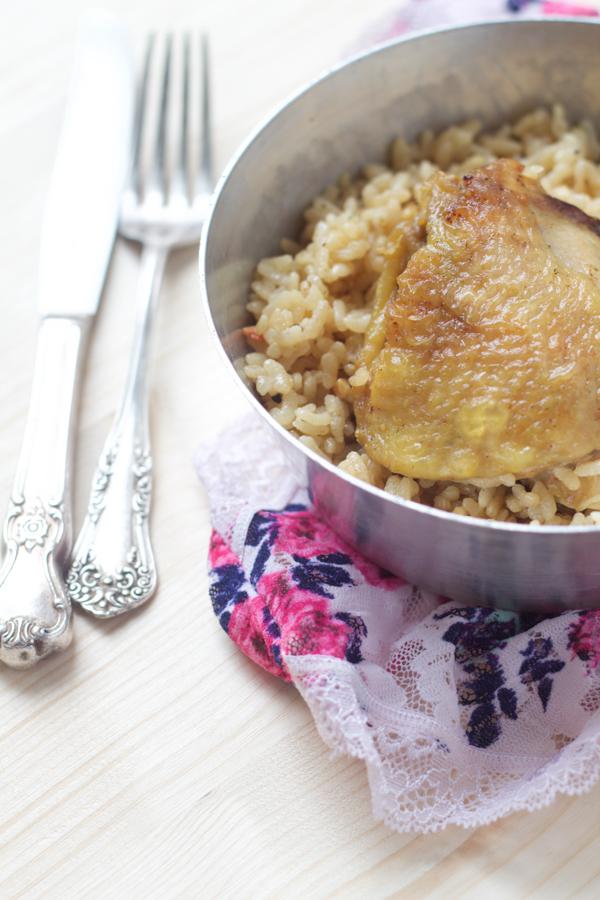 0balkan baked chicken and rice casserole recipe pecena piletina sa rizom main01