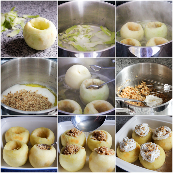 bosnian walnut stuffed apples recipe tufahije-04