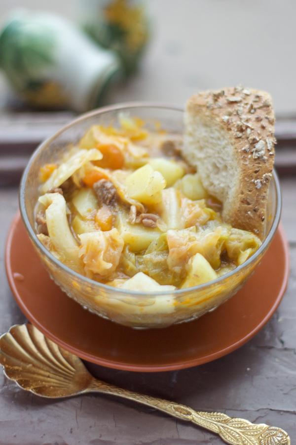 cabbage soup stew kupus recipe