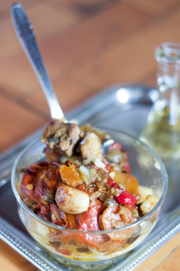 eggplant pepper veal sauce sos s patlidzanima i paprikamamain