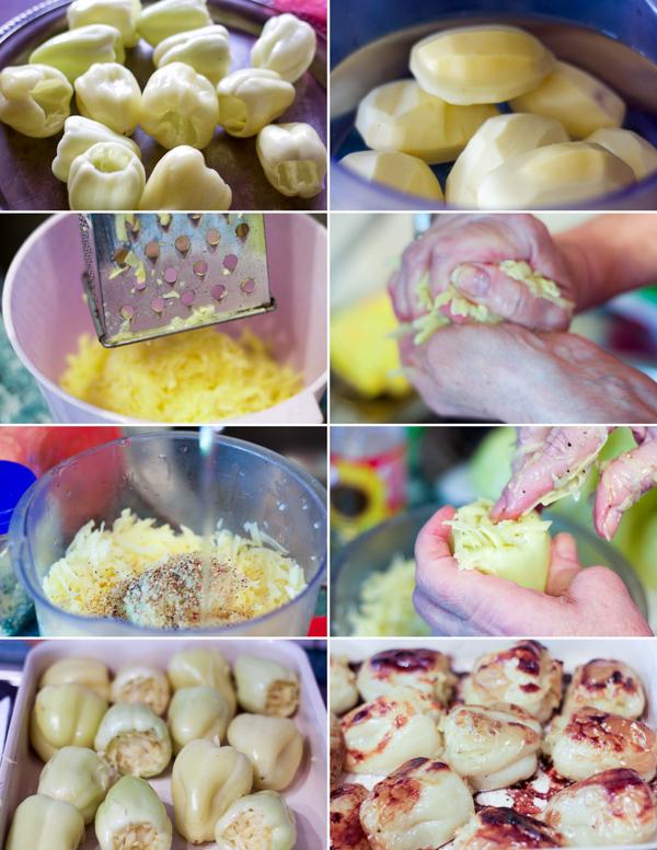 paprike punjene krompirom filovane paprike stuffed peppers stuffed with potatoes