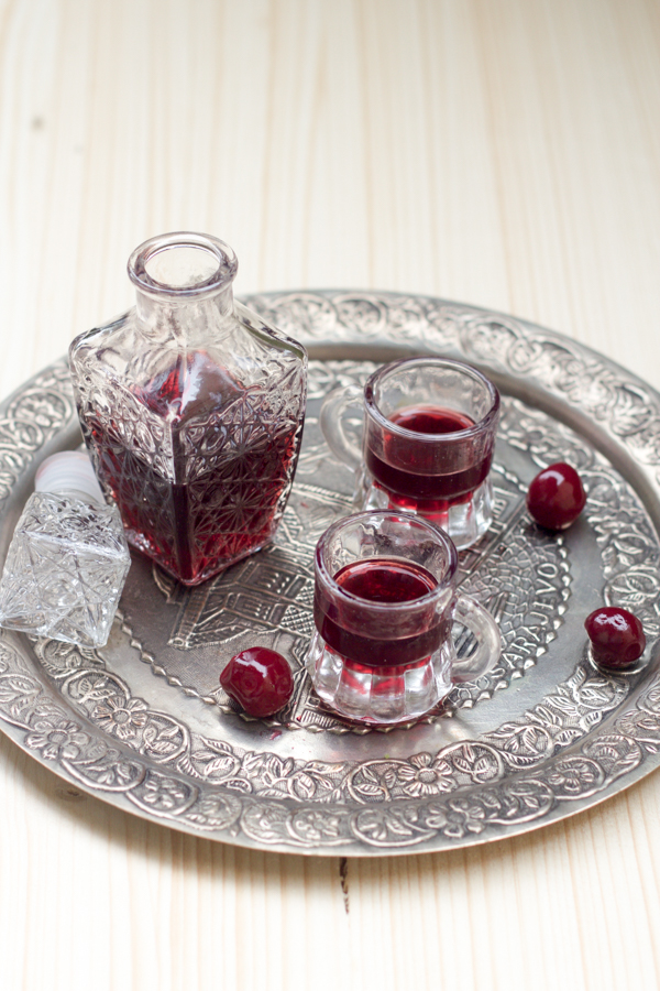 Homemade Sour Cherry Liqueur - Balkan