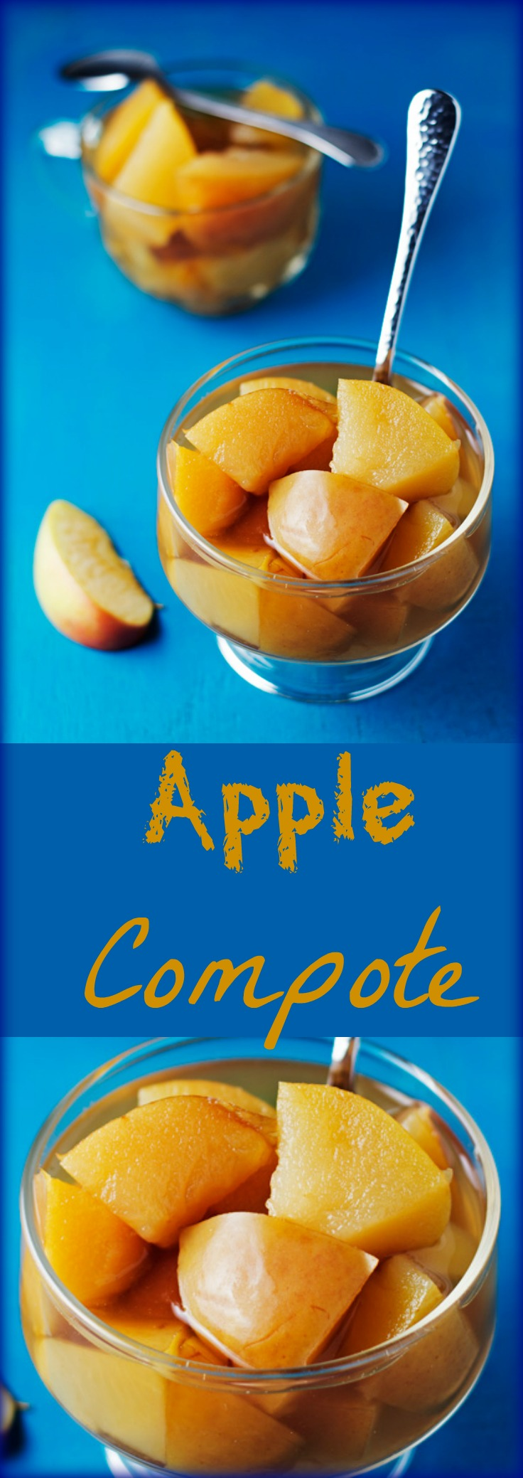 Apple compote or stewed apples take about 35-min. They're a healthier snack option for kids, as well a great way to finish off a heavy meal.