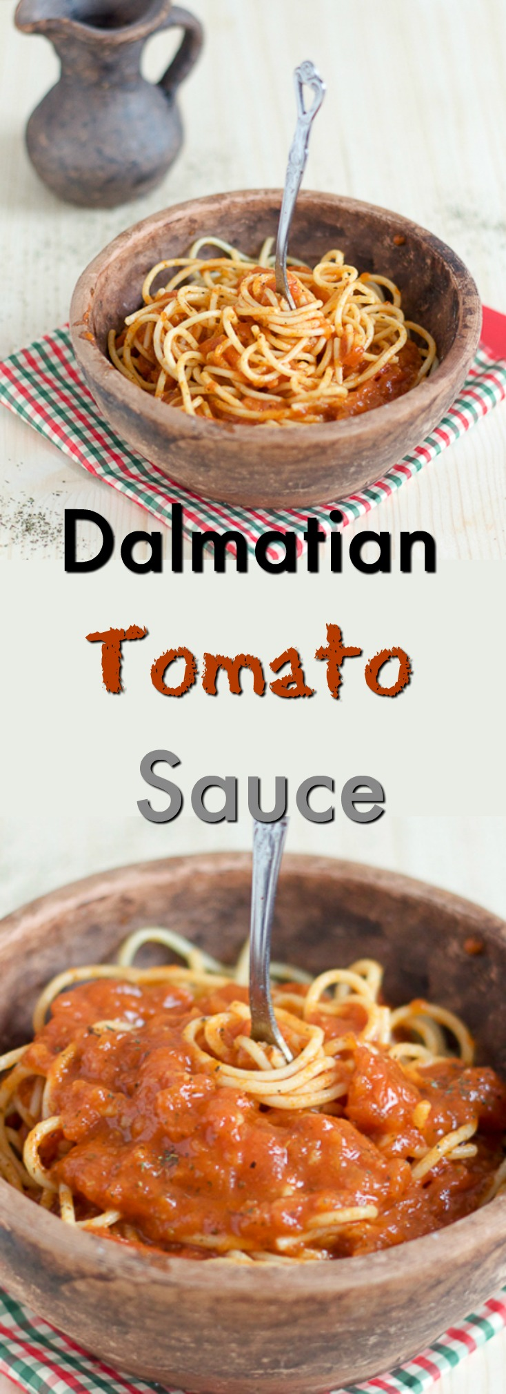 Dalmatian tomato sauce (salsa/ paradajz sos) is one of the simplest recipes for the freshest, most rich tomato sauce you've ever tried, coming to you straight from the Balkan coast. It takes 1 hour from start to finish, and keeps in fridge for a few days.