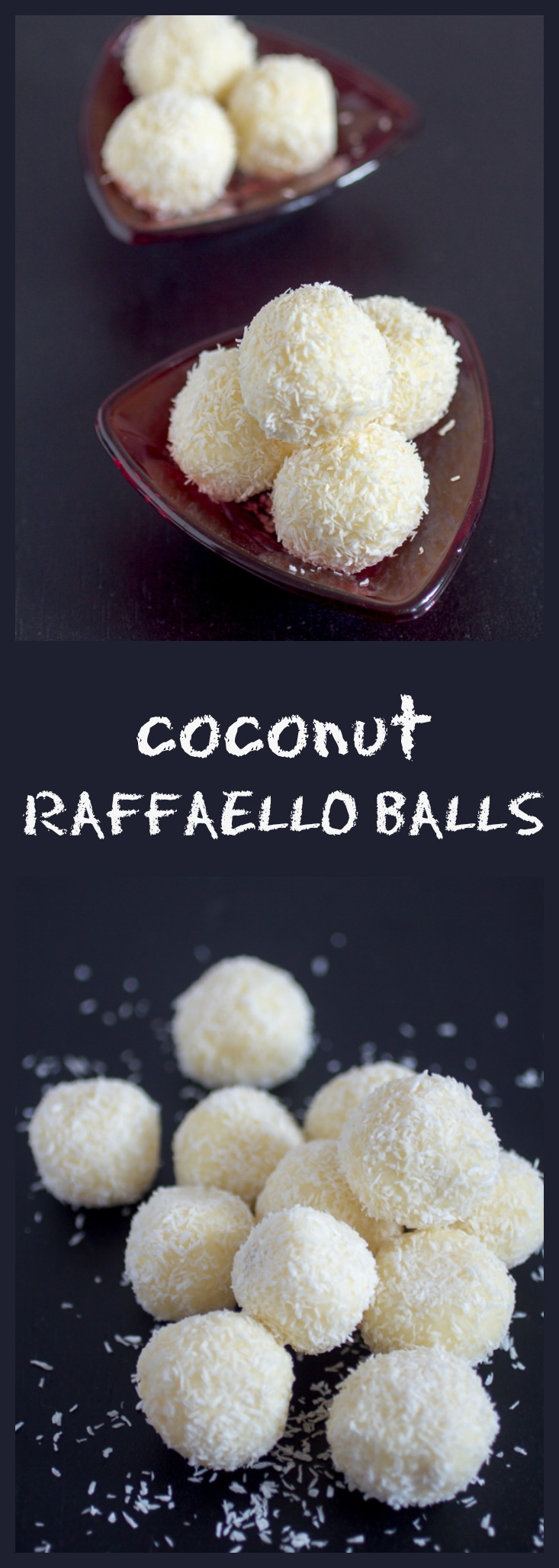 Easiest and most delicious Coconut Raffaello Balls recipe in the world. I promise!