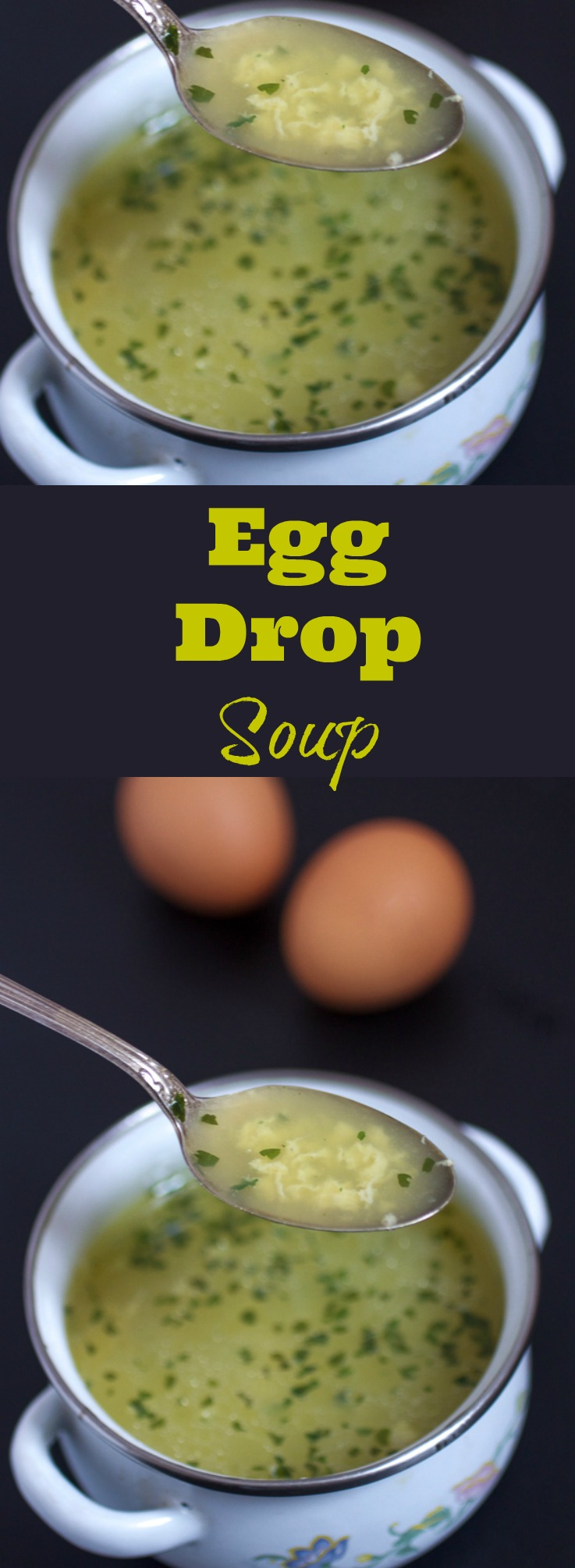 Egg drop soup recipe: appetizer choice you'll never regret! This 20-min, heart warming soup will bring the family back to the dinner table. What are you waiting for?