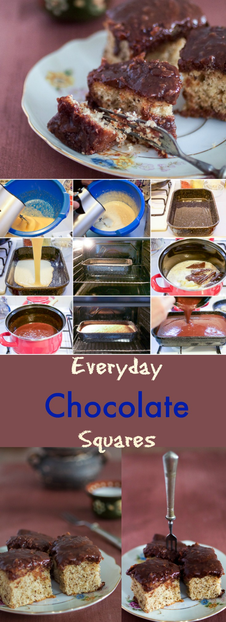 Super easy everyday chocolate squares you can make in under 45 minutes. If looking for a quick dessert that will leave everyone speechless, this is it.