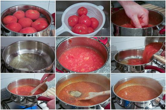 Salsa Preparation Dalmatian Tomato Sauce