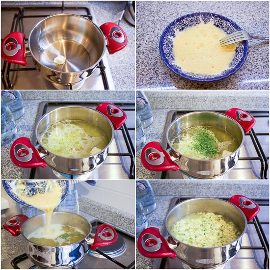 eggdrop soup perparation supica od jaja