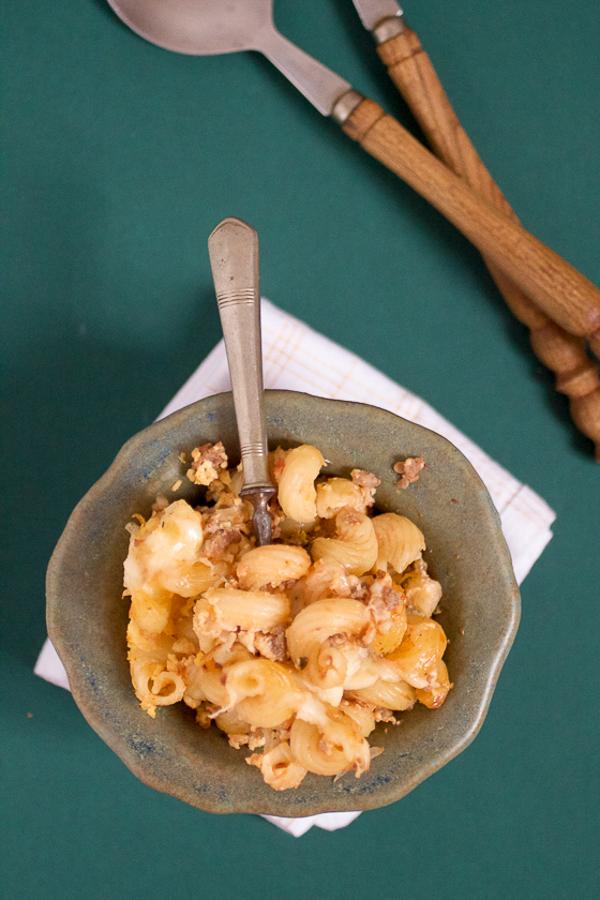 zapeceni makaroni baked pasta with cheese