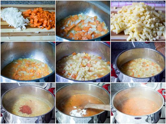 potato soup supa od krompira krompir supa