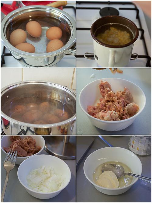 tuna and egg salad salata od jaja i tunjevine prep10