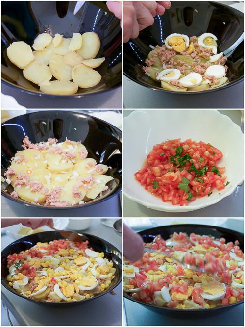 tuna and egg salad salata od jaja i tunjevine prep11