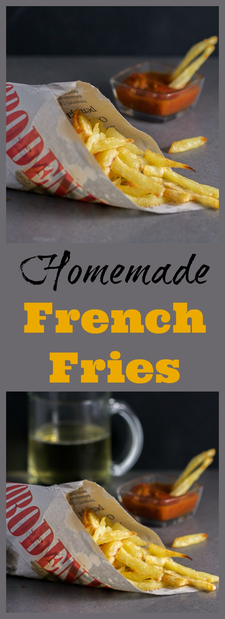 Golden-yellow, soft yet with just the right amount of crispiness, these homemade fries will melt in your mouth. If you've never tried making these at home, today is the day!