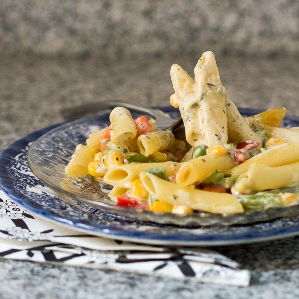 000 pasta in white sauce prep makaroni u bijelom sosu