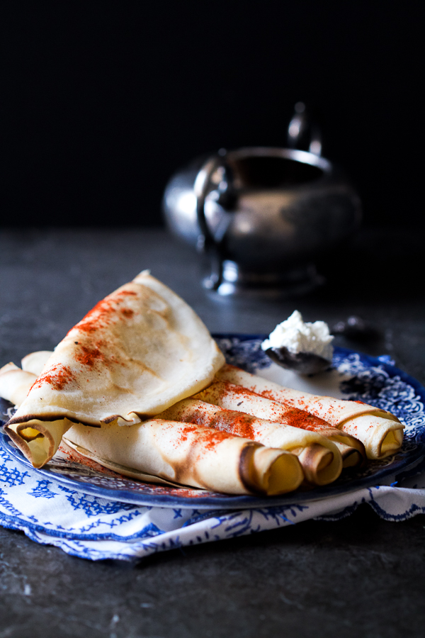Simple Lacy Crepes Balkan Lunch Box