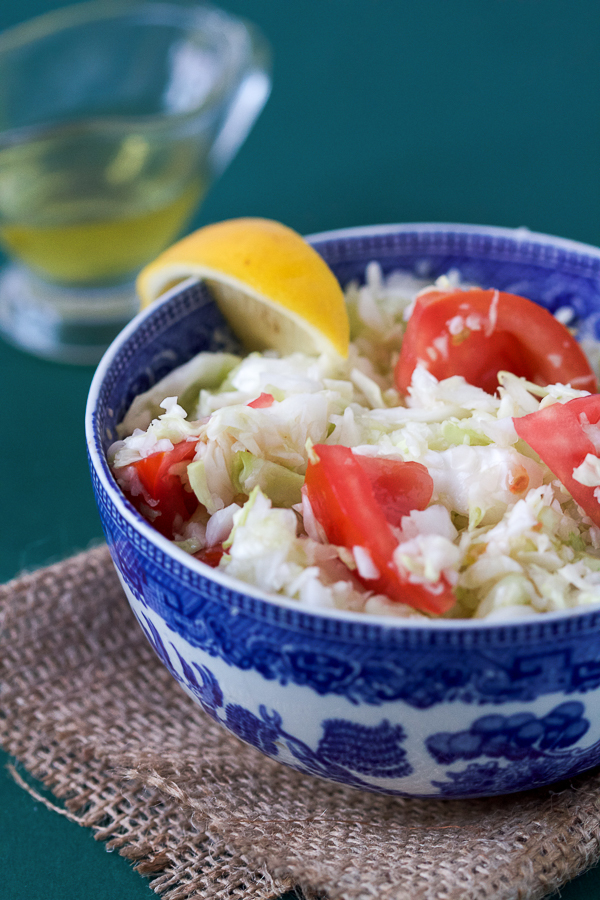 kupus salata shredded cabbage salad