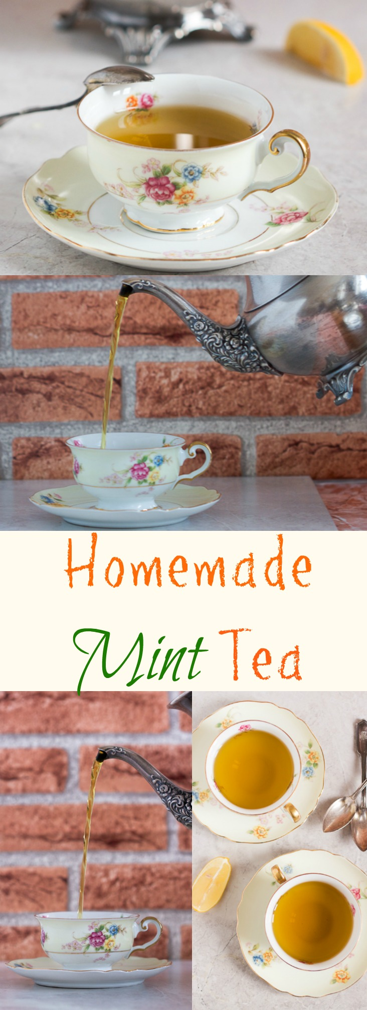 Why buy mint tea when you can make your own from scratch?