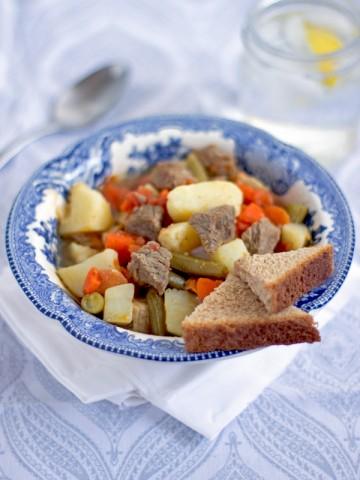 Tipicno bosansko jelo koje potice od rudara.