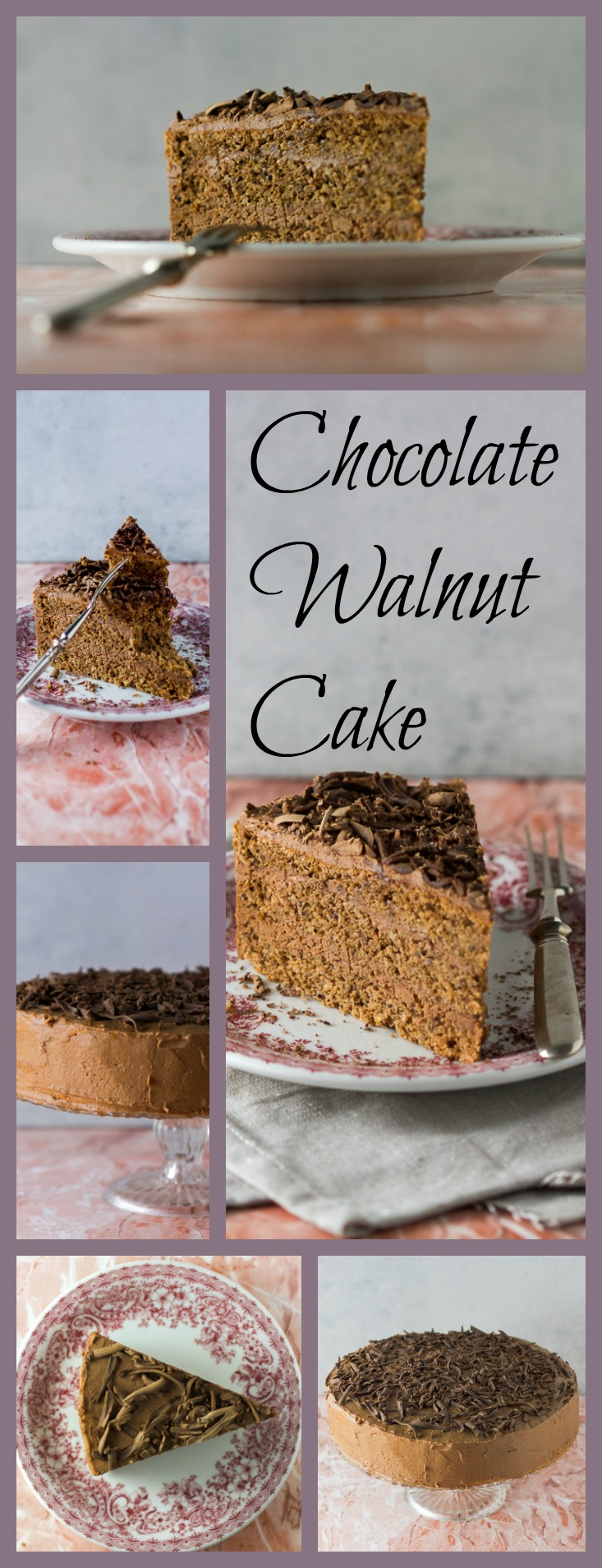 You will want to do a grab and run with this stunningly luscious, Mama's chocolate and walnut cake. It's destined to become the classic you reach for when you crave a perfect blend of chocolate filling and juicy cake in each bite.
