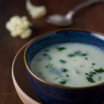 This one is an easy one: creamy cauliflower soup. Exactly what it sounds like. And it takes thirty-ish minutes or so from start to finish. Eat your veggies, make your mom proud!