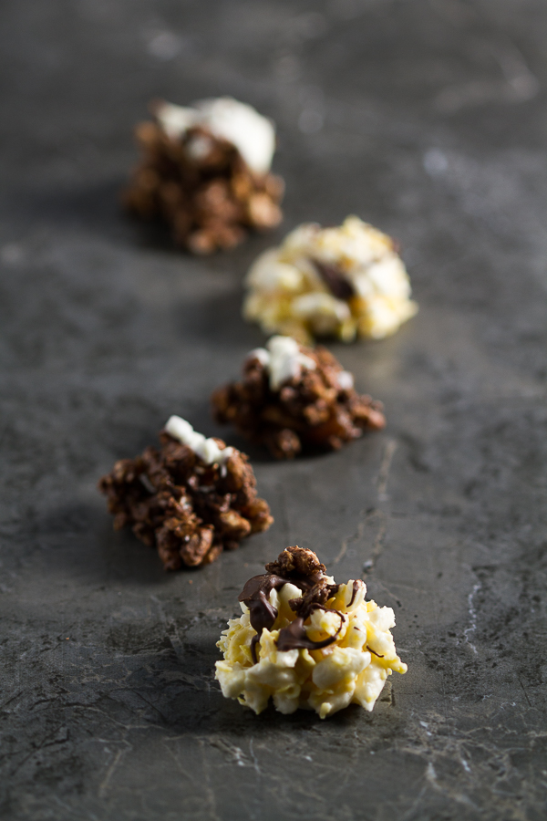 Crunchy puffed rice and cornflake bites soaked in chocolate, you'll never think of cereal the same way.