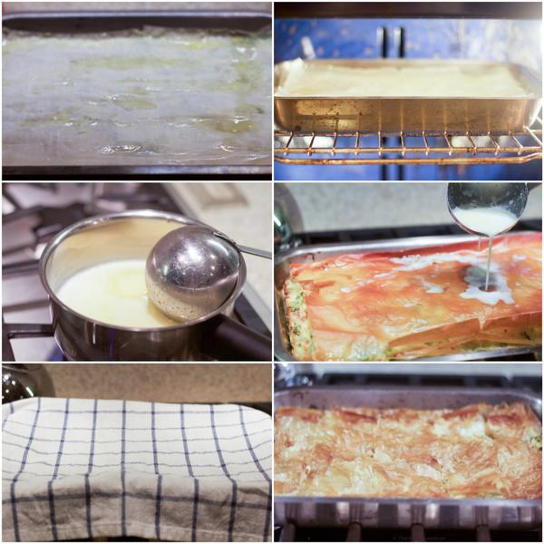 Slagana pita zeljanica (sa kupovnom jufkom) je ukusno jelo, spremno za manje od 45 minuta, nalik na quiche, pravljeno nadjevanjem tijesta špinatom i sirom.