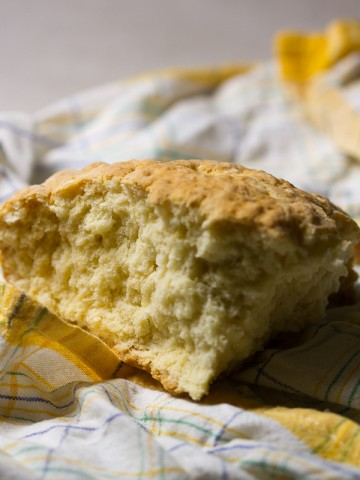 Pogacha, the traditional Balkan bread, is one of the most well known delicacies coming from the region. This, just-the-right-amount-of-tough, milk and yogurt, no-rise bread can be on your plate before you can watch a movie from start to finish.