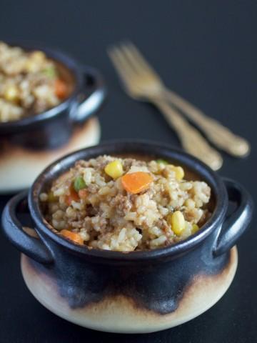 Rižoto sa povrćem i mesom - od sastojaka do jela za 45 minuta.