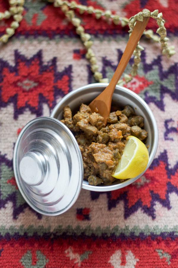 Veal and Okra Sauce #bamija #bamya #veal #okra | balkanlunchbox.com