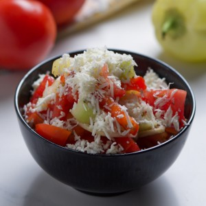 Salads and fermented category photograph.